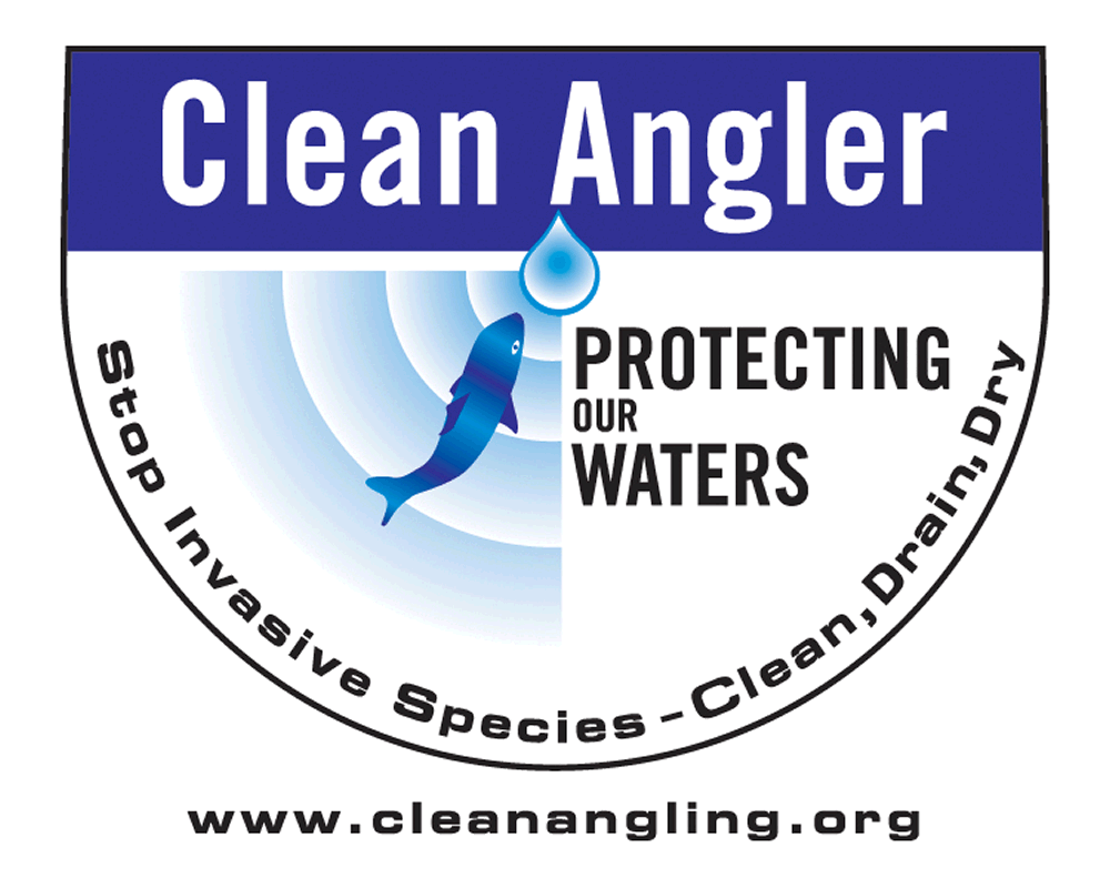 Clean Angling Pledge logo